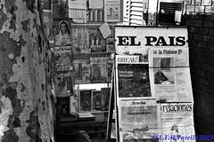 Montevidéu em preto-e-branco