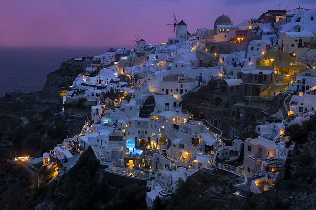 Oia After A Lousy Sunset