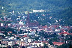 Freiburg from above V