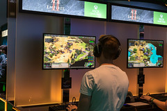 Age of Empires II: Definitive Edition auf der Xbox Spielstation auf der Gamescom