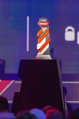 ESL Championship trophy for the winner in Counter-Strike Global Offensive 2019, awarded at Gamescom