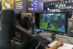 Epic Games - Fortnite Spielstation auf der Gamescom