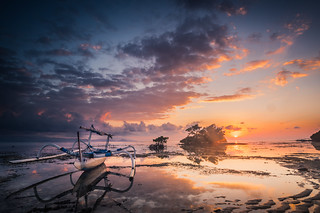 Sunrise Nusa Lembongan