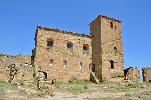 2019 - Castle Montearagon (Castillo Montearagon), Quicena, near Huesca, Aragon, Spain
