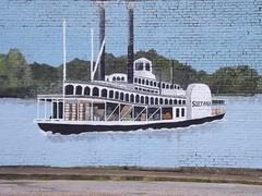 Sultana Mural in Marion, Ark.