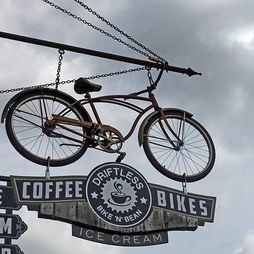High Flying Bicycle