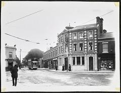 An electric tram at Terenure