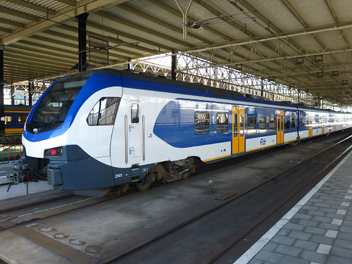 Train at Eindhoven Station