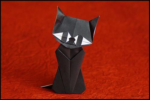 Origami Cat (Taichiro Hasagawa)