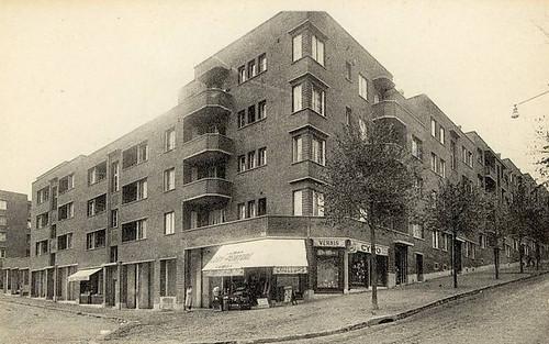 Le Pré Saint Gervais - Avenue Jean Jaurès. Habitations à bon Marché H.B.M.