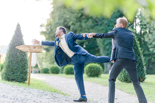 Den Hochzeitstag festhalten