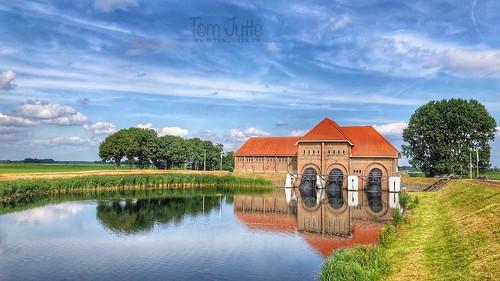 Watergemaal A. F. Stroink, Vollenhove, Overijssel, Netherlands - 2852