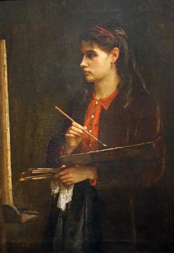 Edma Pontillon de Berthe Morisot (Musée d'Orsay, Paris)