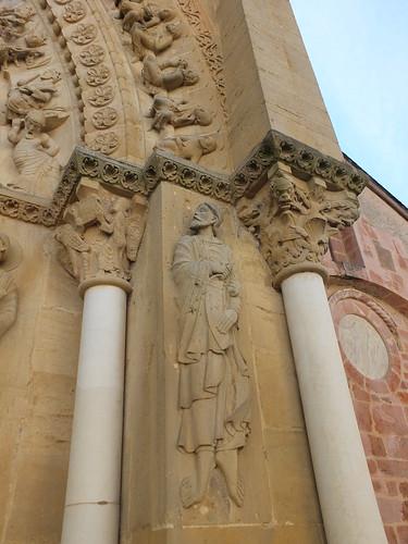 Iglesia de Sainte-Foy - Detalle de la portada 2
