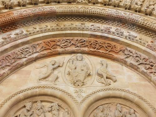Iglesia de Sainte-Foy - Detalle de la portada 7