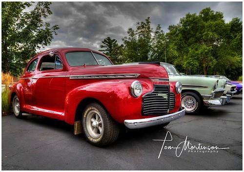 Old Car Show - 1940 Chevy Sedan