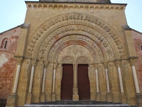Iglesia de Sainte-Foy - Portada