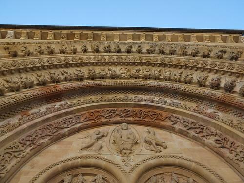 Iglesia de Sainte-Foy - Detalle de la portada 11