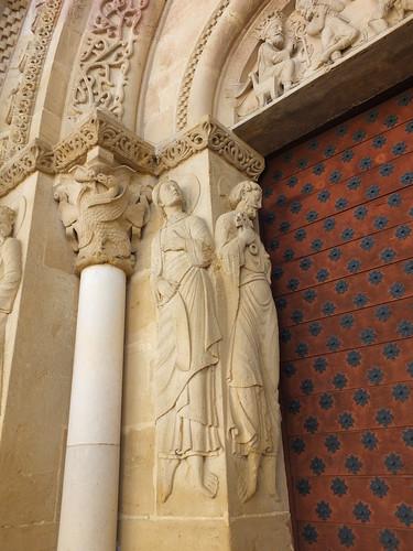 Iglesia de Sainte-Foy - Detalle de la portada 6