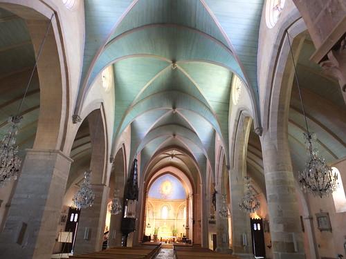 Iglesia de Sainte-Foy - Interior