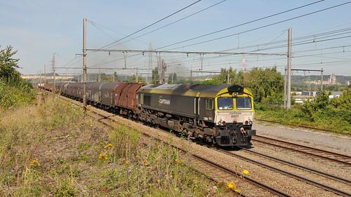 Captrain/Railtraxx 266 001 6601 Visé 22.08.2019