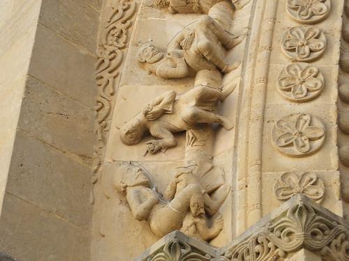 Iglesia de Sainte-Foy - Detalle de la portada 12