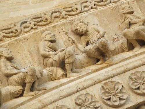 Iglesia de Sainte-Foy - Detalle de la portada 13