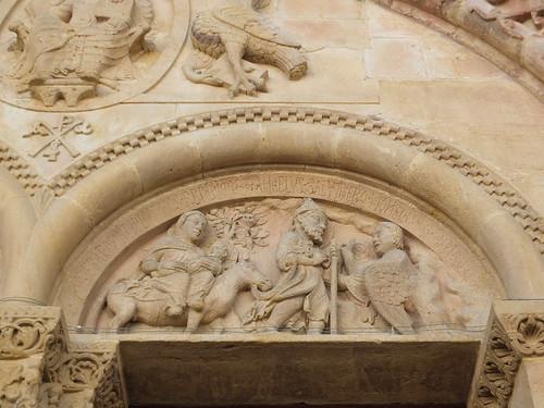 Iglesia de Sainte-Foy - Detalle de la portada 4