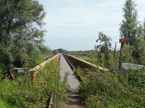 Old railroad bridge of the 'halvezolenlijntje