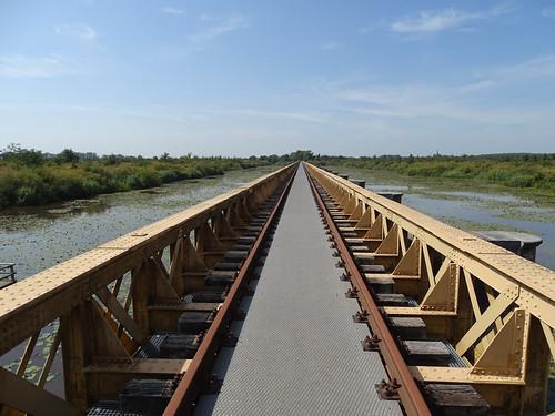 Old railroad bridge of the 'halvezolenlijntje'