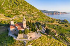 Sankt Nikoluas Kirche in Komiza, Kroatien