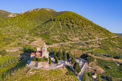 St. Nicholas Church in Komiza, Croatia