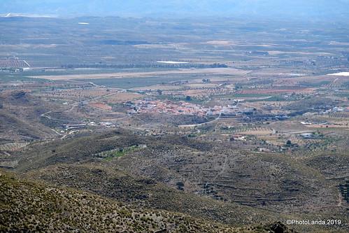 Uleila del Campo desde Benizalón