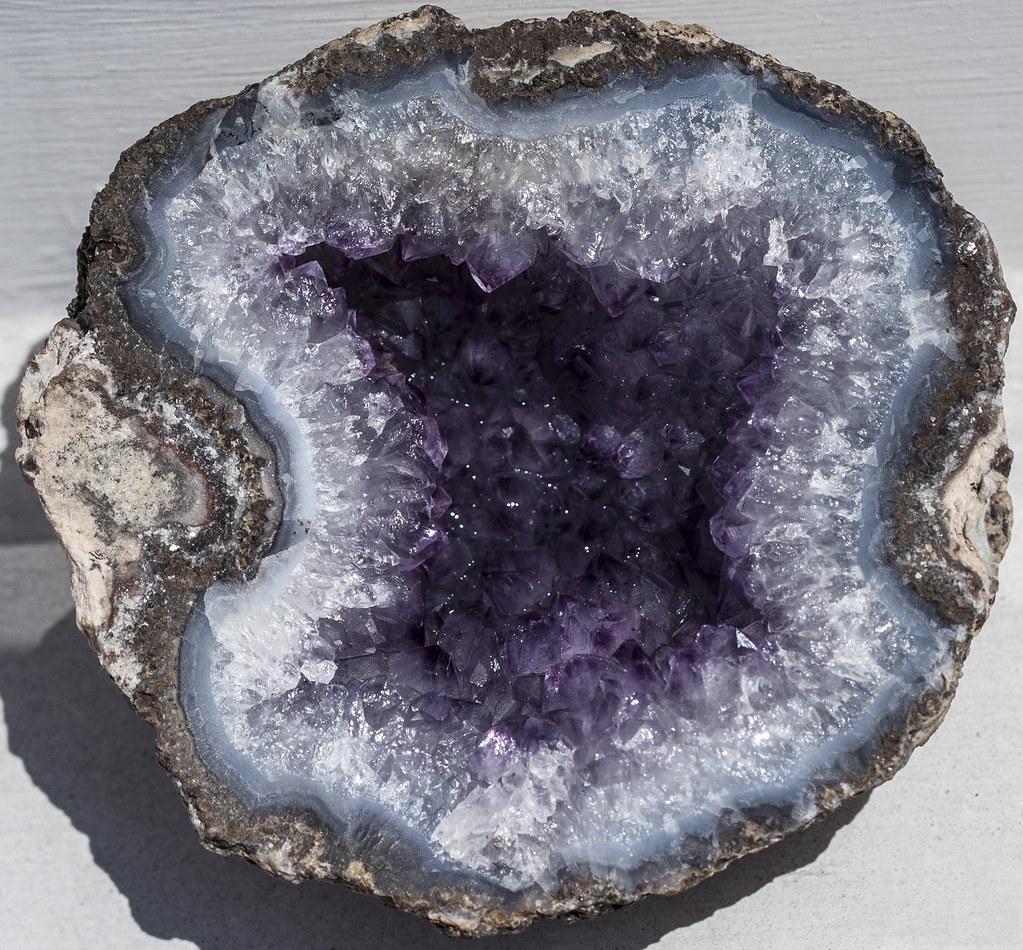 inside a rock