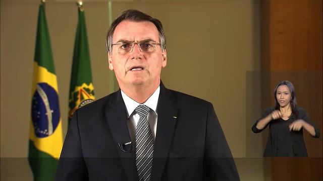 Bolsonaro é alvo de panelaço durante pronunciamento sobre queimadas na Amazônia