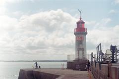 Jetée ouest, port de Saint-Nazaire