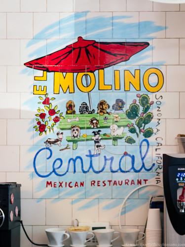 El Molino Central - sign