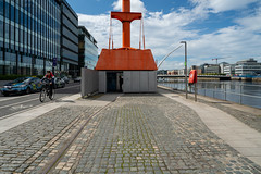 DUBLIN PORT DIVING BELL PLUS VISITOR CENTRE [THE MINI-MUSEU FEATURES ONE OF MY PHOTOGRAPHS]-155166