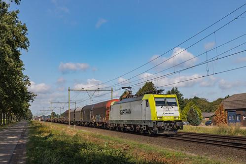 186 152 CAPTRAIN met unit cargo. Horst-Sevenum