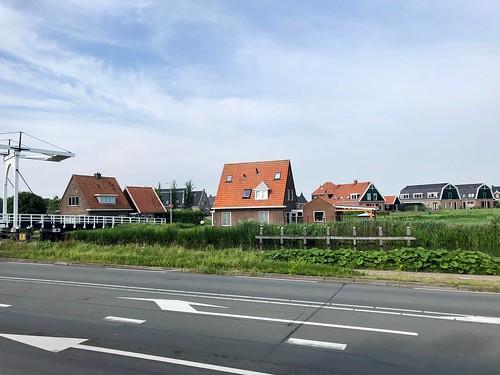 Provinciale Weg, Katwoude, Noord-Holland, Nederland