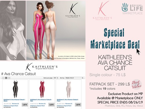 Kaithleen's Special Marketplace Deal - Ava Chance Catsuit
