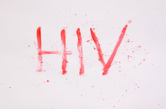 Bloody word HIV