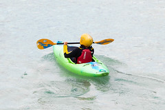 First kayaking lessons