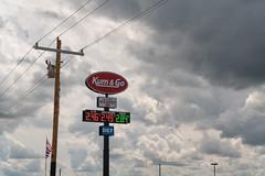 Kum & Go Truck Stop in Iowa