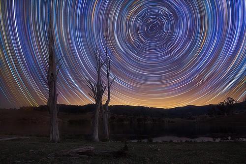 Lostock Star Trails