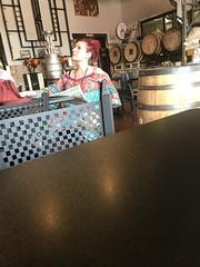 Interesting Lady at Smoketown Brewing Station - Brunswick Maryland (2)