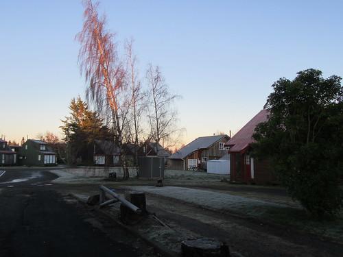 Frosty Start at Ohakune