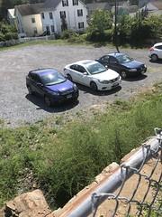 My park parked below street level at Smoketown Brewing Station - Brunswick Maryland