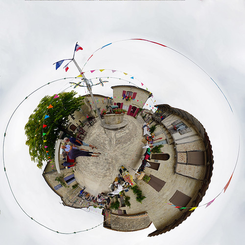 Boot sale in the village - Mini Planet