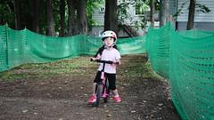 SAKIKO is riding a STRIDER - Hitsujigaoka Observation Hill.